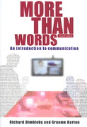 More Than Words 4th Edition 9780415303835 0415303834