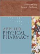 Applied Physical Pharmacy 1st edition 9780071350761 0071350764