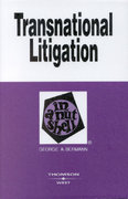 Transnational Litigation in a Nutshell 1st Edition 9780314145840 0314145842