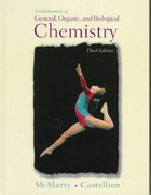 Fundamentals of General, Organic and Biological Chemistry 3rd edition 9780139185175 0139185178