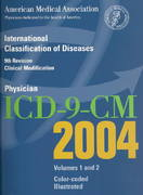 AMA Physician ICD-9-CM 2004 1st Edition 9781579474669 1579474667
