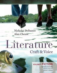 Literature: Craft &amp. Voice (Fiction, Poetry, Drama) 1st edition 9780077326333 0077326334