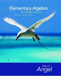 Student Study Pack for Elementary Algebra Early Graphing for College Students 4th edition 9780132348867 0132348861
