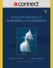 Connect Access Card for Essential Statistics in Business and Economics 2nd edition 9780073364612 0073364614