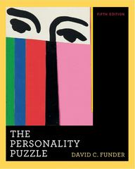 The Personality Puzzle 5th Edition 9780393933482 0393933482