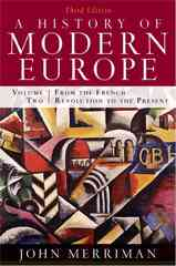 A History of Modern Europe 3rd Edition 9780393933857 0393933857