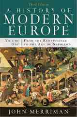 A History of Modern Europe 3rd Edition 9780393933840 0393933849