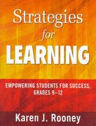 Strategies for Learning 0 9781412972864 1412972868