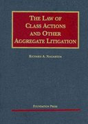 The Law of Class Actions and Other Aggregate Litigation 1st edition 9781599414942 1599414945