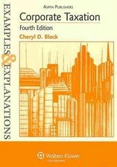 Corporate Taxation 4th edition 9780735588721 0735588724