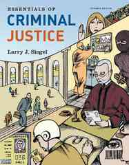 Essentials of Criminal Justice 7th edition 9780495810995 0495810991