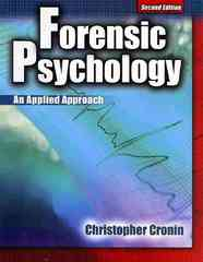Forensic Psychology 2nd edition 9780757561740 0757561748