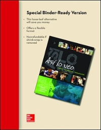 Looseleaf for Asi lo veo 1st edition 9780077602109 0077602102