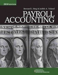 Payroll Accounting 2010 (with Computerized Payroll Accounting Software CD-ROM) 20th edition 9780538744621 0538744626