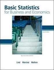 Basic Statistics for Business and Economics 7th edition 9780073401782 0073401781