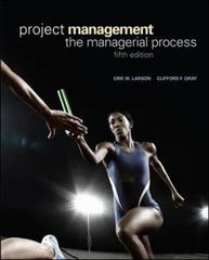 Project Management 5th edition 9780073403342 0073403342