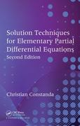Solution Techniques for Elementary Partial Differential Equations, Second Edition 2nd Edition 9781439811399 1439811393
