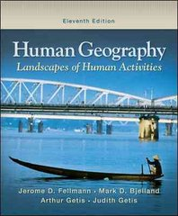 Human Geography 11th Edition 9780073522852 0073522856