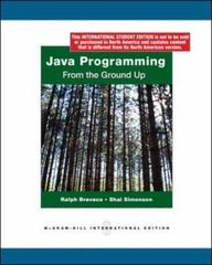 Java Programming 0th edition 9780070181397 007018139X