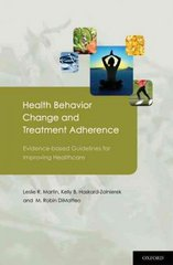 Health Behavior Change and Treatment Adherence 1st Edition 9780195380408 0195380401