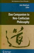 Dao Companion to Neo-Confucian Philosophy 0 9789048129294 904812929X