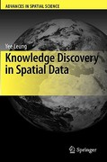 Knowledge Discovery in Spatial Data 0 9783642026638 364202663X