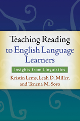 Teaching Reading to English Language Learners 1st Edition 9781462509911 1462509916