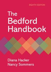 The Bedford Handbook 8th edition 9780312480134 031248013X