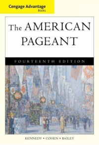 Cengage Advantage Books: The American Pageant 14th edition 9780495903468 0495903469