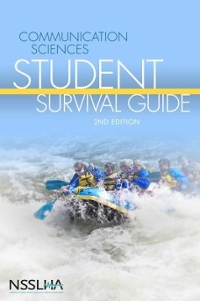 Communication Sciences Student Survival Guide 2nd Edition 9781435481022 143548102X