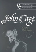 The Cambridge Companion to John Cage 0 9780521789684 0521789680