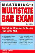 Mastering the Multistate Bar Exam 2nd edition 9781572485969 1572485965