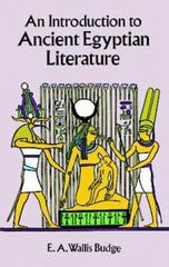 An Introduction to Ancient Egyptian Literature 0 9780486295022 0486295028
