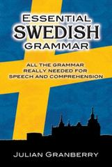 Essential Swedish Grammar 0 9780486269535 0486269531