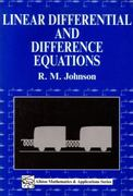 Linear Differential and Difference Equations 0 9781898563129 1898563128