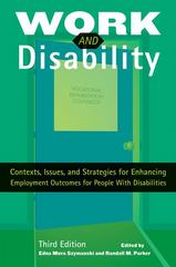 Work and Disability 3rd Edition 9781416404361 1416404368