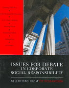 Issues for Debate in Corporate Social Responsibility 0 9781412977562 1412977568