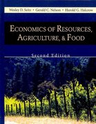 Economics of Resources, Agriculture, and Food 2nd Edition 9781577666240 1577666240