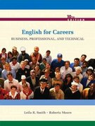 ENGLISH FOR CAREERS with MYWRITINGLAB VP 10th edition 9780135092279 0135092272
