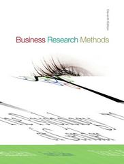 Business Research Methods 11th edition 9780073373706 0073373702