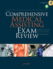 Comprehensive Medical Assisting Exam Review 3rd edition 9781435499140 143549914X