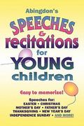 Abingdon's Speeches and Recitations for Young Children 0 9780687086764 0687086760