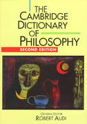 The Cambridge Dictionary of Philosophy 2nd edition 9781439503508 1439503508