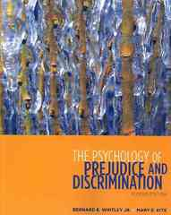 The Psychology of Prejudice and Discrimination 2nd Edition 9780495811282 0495811289