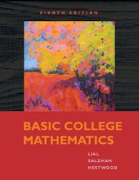 Basic College Mathematics plus MyMathLab Student Access Kit 8th edition 9780321574671 0321574672