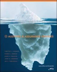 Auditing & Assurance Services 4th edition 9780078136641 0078136644