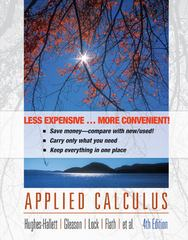 Applied Calculus 4th edition 9780470556627 0470556625