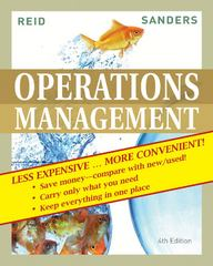 Operations Management, Fourth Edition Binder Ready Version 4th edition 9780470556702 0470556706