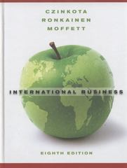 International Business 8th edition 9780470530658 0470530650