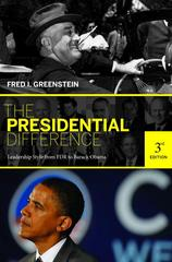 The Presidential Difference 3rd Edition 9780691143835 0691143838